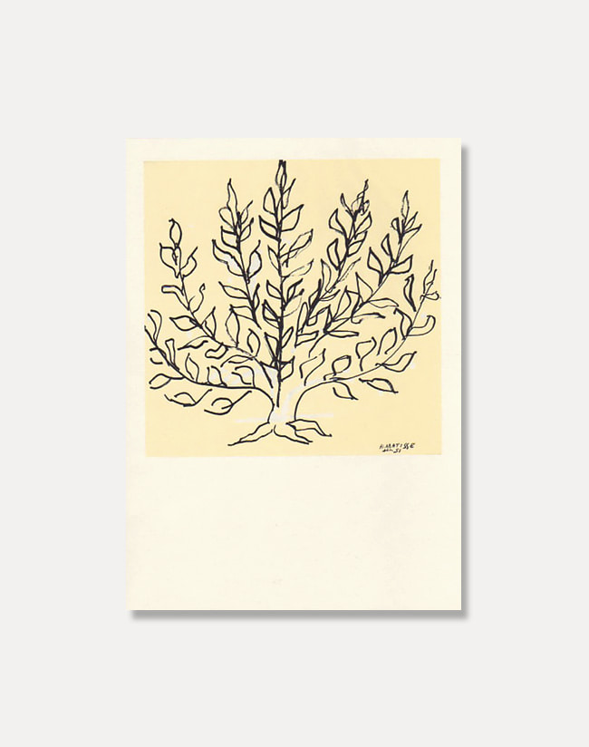 [앙리 마티스]Greeting Card - LE BUISSON 15 x 21.5 cm