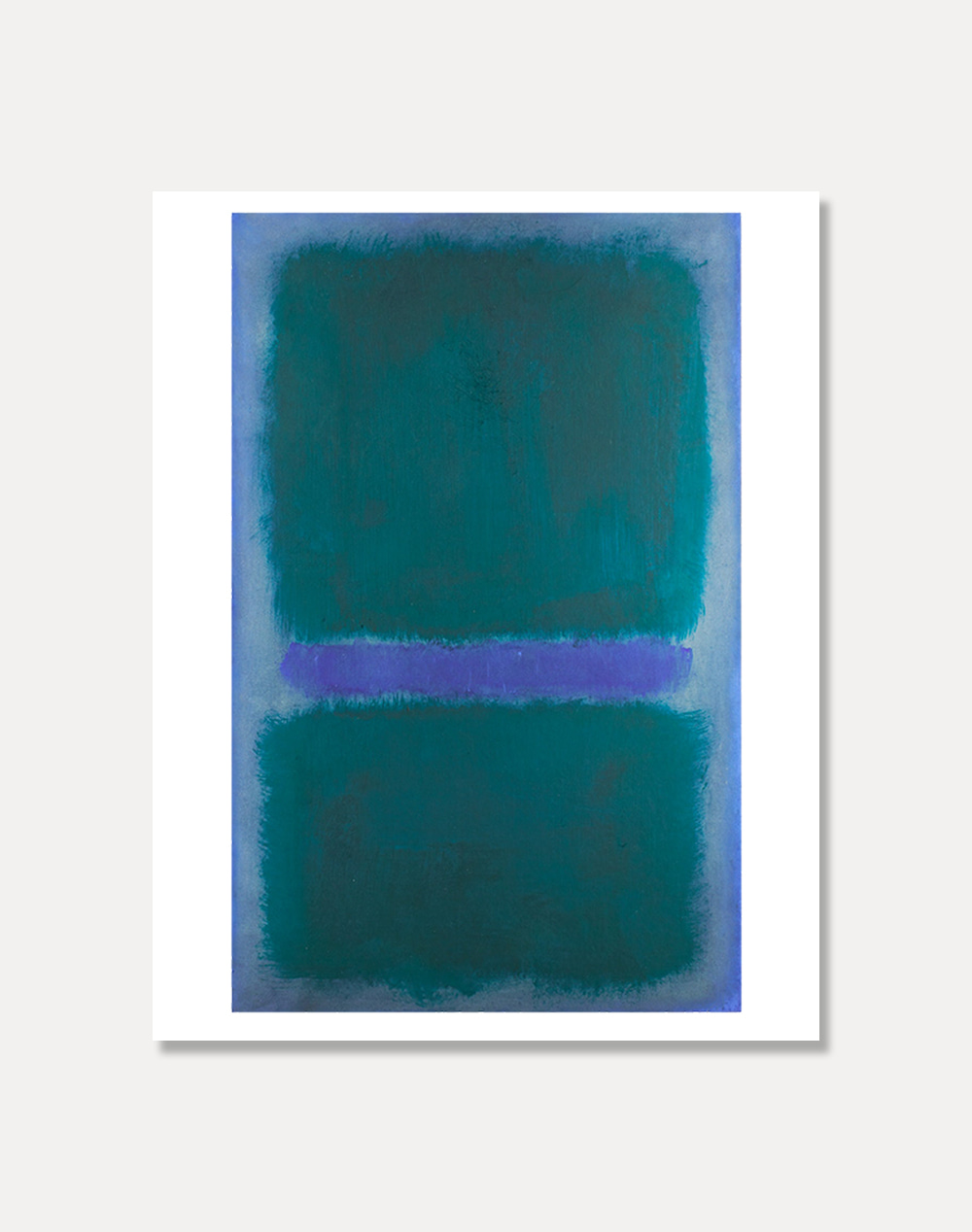 [마크로스코]MARK ROTHKO —Untitled (BlueGreen, Blue on 81 x 101 cm